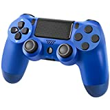 PS-4 Controller Wireless Gamepad for ps-4/Pro/Slim, Gamepad Joystick with Dual Vibration/six-axis gyro Sensor/Audio Jack/Speaker/LED Indicator/USB Cable