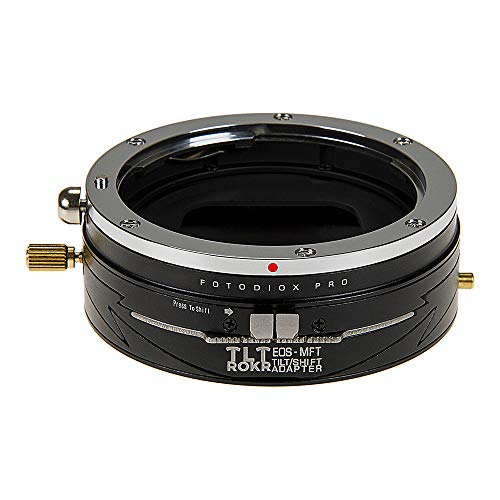 Fotodiox Pro TLT ROKR - Tilt/Shift Lens Mount Adapter for Canon EOS (EF/EF-S) D/SLR Lenses to Micro Four Thirds (MFT, M4/3) Mount Mirrorless Camera Body