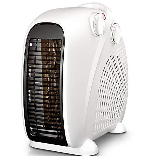 Calefactor eléctrico Calentador de espacio personal portátil Calentador Calentador ventilador eléctrico pequeño calentador de cerámica for la Oficina Dormitorio Desk Inicio Calentador Portable