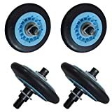 ATMA DC97-16782A Dryer Drum Roller Kit Pack of 4 Fit For Samsung Dryer Replace DC97-07523A C97-07523B DC97-07523A PS4221885 AP5325135 DC97-16782A