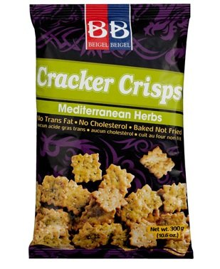 BB Ranking TOP12 Cracker Crisps Mediterranean Herbs 10.6 Oz. P Max 57% OFF No Cholesterol