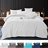 SONORO KATE 100% Pure Egyptian Cotton Sheets Sets,Cooling Bed Sheets 800 Thread Count Long Staple...