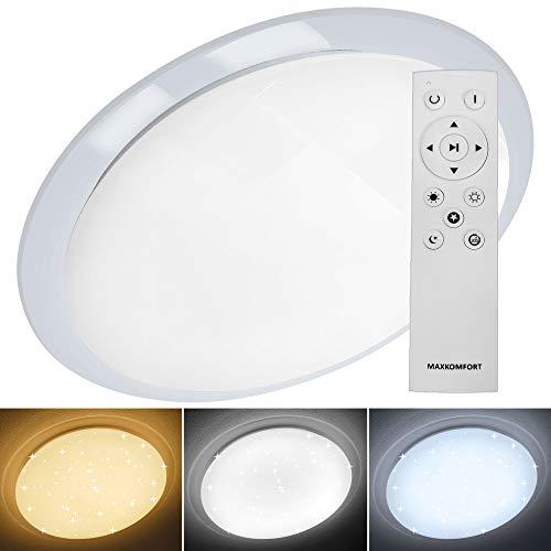 """LED Deckenleuchte""""GALA-XL"""" 96W Deckenlampe Farbwechsel Modern und schlicht"""