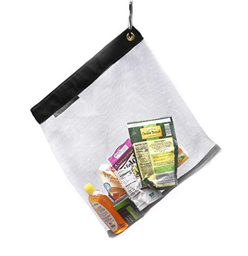 "RATSACK - Bear Bags for Food Backpacking - Bear Sack Rodent Proof Food Storage Hanging Mesh Bag - Ultralight Backpacking and Camping Food and Gear Storage Bag (Medium - 10oz - 18""x19"" - 30L)"