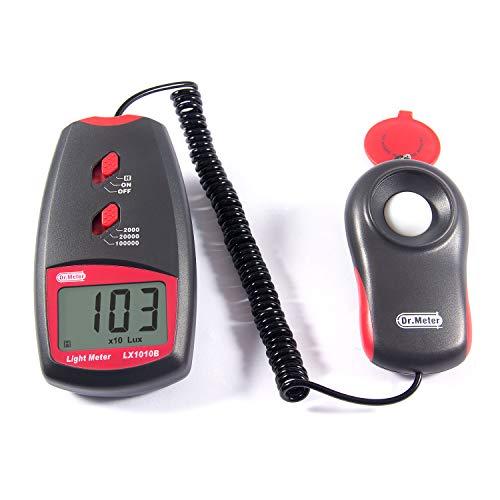 Dr.meter LX1010B Digital Illuminance/Light Meter