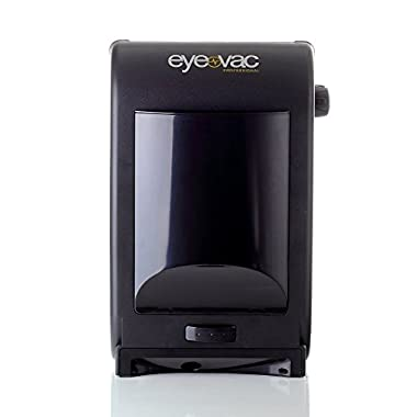 EyeVac EVPRO Tuxedo Black Touchless Stationary Vacuum – 1400 Watts Professional Vacuum with HEPA Filtration, Bag-less Canister. Floor Care
