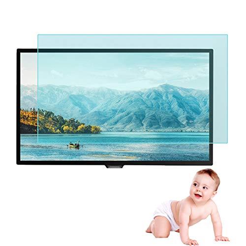 Protector De Pantalla Anti Luz Azul para TV Ultra Transparente Película De Filtro Antideslumbrante Protección para 32-65 Pulgadas Monitor De Pantalla LCD ALGFree