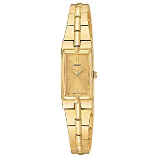 Seiko Women's SZZC44 Dress Gold-Tone Watch (B000PSP21Y) | Amazon price tracker / tracking, Amazon price history charts, Amazon price watches, Amazon price drop alerts