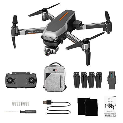 HYMAN Drohne mit Zweiachsige Verwacklungsschutz Kamera, L109 PRO 5G WiFi 4K HD Luftbild Drohne GPS Quadcopter