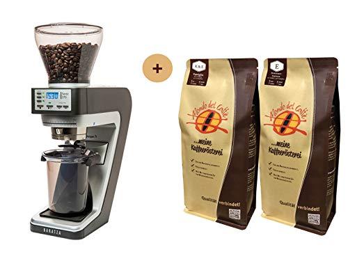 Baratza Sette 270 Kaffee- / Espressomühle grau/schwarz mit 2 * 500 gr. Spitzenkaffee/Espresso von Mondo del Caffè