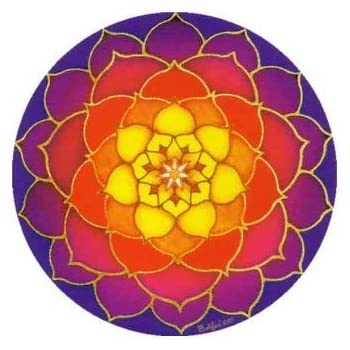 Mandala Arts Window Sticker Reflections Sun /& Moon EXPSFD010112