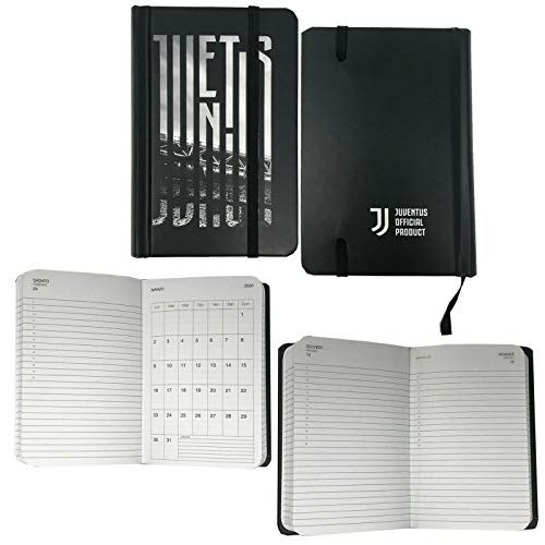 F.C. JUVENTUS Agenda Annuale Giornaliera 2020 - Pocket Dimensioni 14.7x9.8 cm circa