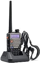 BaoFeng UV-5R+/UV5R Plus Dual-Band 136-174/400-480 MHz FM Ham Two-Way Radio 2pcs (Black)