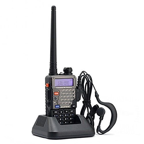 BaoFeng UV-5R+/UV5R Plus Dual-Band 136-174/400-480 MHz FM Ham Two-Way Radio 2pcs (Black)