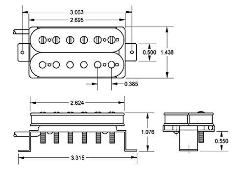 Seymour Duncan SH-1N 2C '59 Model (neck position/2-wire) black