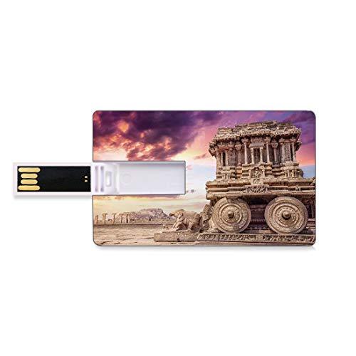 128G Unidades flash USB flash Ruinas históricas antiguas talladas con patrones de...