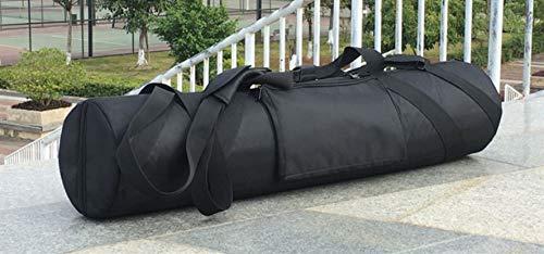 Sutekus 三脚 撮影機材 楽器 保護バッグ 長いもの 運搬バッグ キャリーバッグ 収納バッグ 厚めのクッション入り 旅行 運動会 (110*18cm)