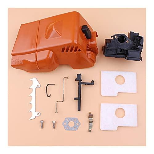 Rendimiento estable Filtro de aire Top Filtro de aire Spike Spike Barm Kit para S-TIHL MS180 MS170 018 017 MS 180 Piezas de repuesto Cadena de motosierra de gasolina Durable (Color : China)