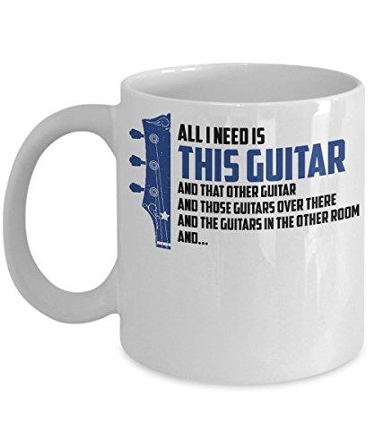All I Need Is This Guitar Mug