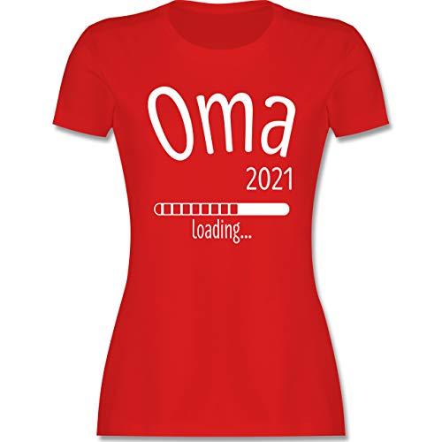 Oma - Oma 2021 Loading - M - Rot - t Shirt oma - L191 - Tailliertes Tshirt für Damen und Frauen T-Shirt