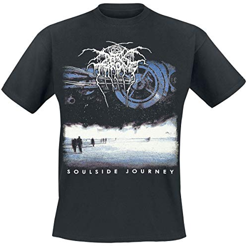 Darkthrone Soulside Journey Männer T-Shirt schwarz M 100% Baumwolle Band-Merch, Bands
