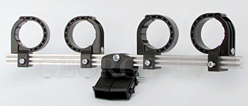 Triax Multiblock 4-fach Halter
