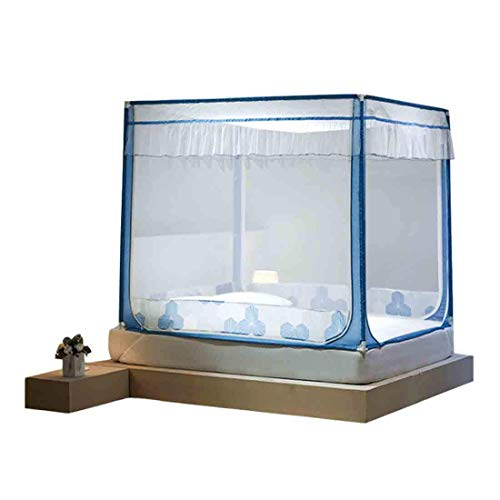 Qazxsw mosquito net Mosquito Net Ultra Large Mosquito Net Easy to Install or Single to King Size Beds