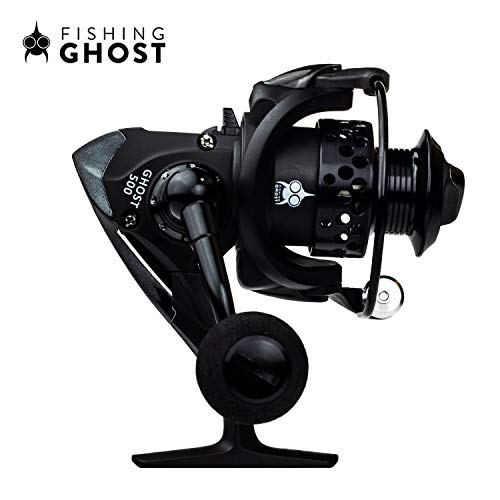 FISHINGGHOST® REEL500 Angel Spinnrolle 180gr ideal für Ultralight Ruten, Rolle zum Ultraleicht Angeln