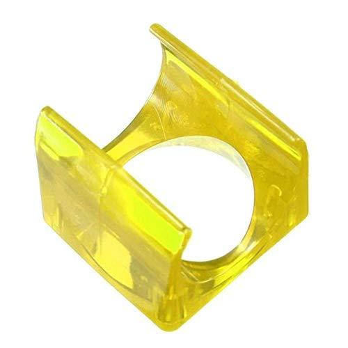 JIAHONG Accesorios Accesorios for el Ordenador, Bricolaje V5 Caso plástico de Shell for el 30 x 10 Enfriamiento Ventilador Impresora 3D Extrusora (Color: Amarillo) Impresora 3D