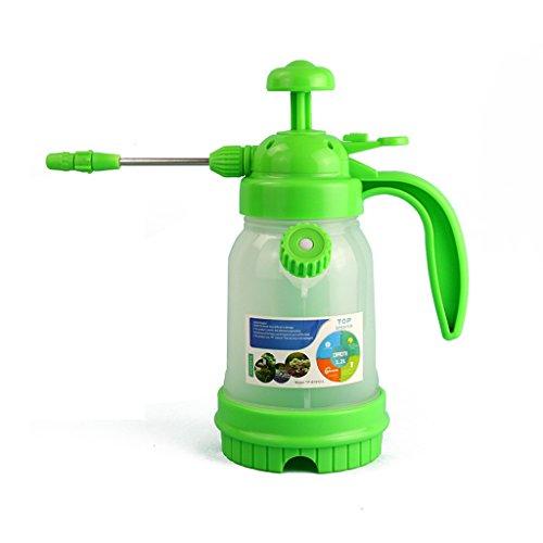 Poêle à main poêle à pression, jardin extérieur petit pot de pulvérisation eau chaude bouilloire jardinage fournitures outils rose 1.2L petit nombre ( Couleur : Vert )