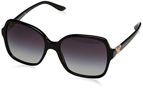 Bulgari 0BV8164B 501/8G 56 Gafas de sol, Negro (Black/Gradient), Unisex-Adulto