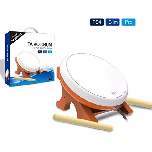 OSTENT Mini Taiko No Tatsujin Master Drum Controller Strumento tradizionale giapponese per Sony PS4 Slim Pro