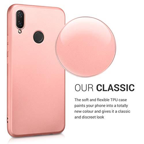kwmobile Huawei P Smart+ (2018) / Nova 3i Hülle - Handyhülle für Huawei P Smart+ (2018) / Nova 3i - Handy Case in Metallic Rosegold - 3