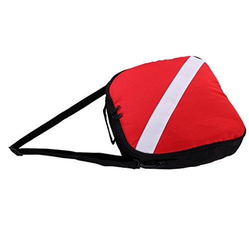 Toygogo Professionelle Reißverschluss Tauchflaggen Atemregler Ausrüstung Tragen Reisetasche Und Schultergurt Für Das Schnorcheln Von Tauchern