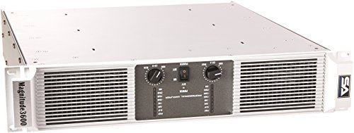 Seismic Audio Magnitude3600 2 Channel Power Amplifier 1200 Watts RMS