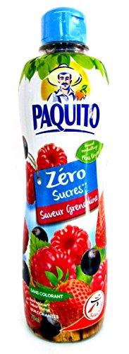 Paquito Sirup Grenadine ohne Zucker 750 ml PET Flasche