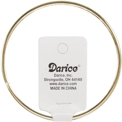 """Darice 17166 Gold Metal Ring, 18"""" Metal Ring"""