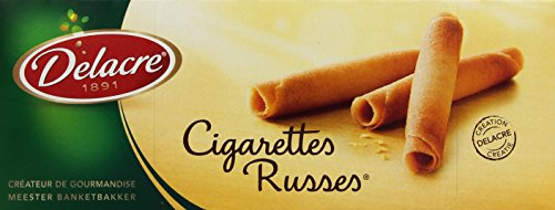 Delacre Cigarettes Russes 200g Packung, 5er Pack (5 x 200 g)