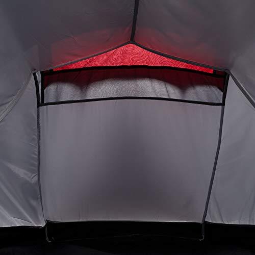 Regatta Halin 2-Mann-Zelt Einheitsgröße Seal Grey/Pepper