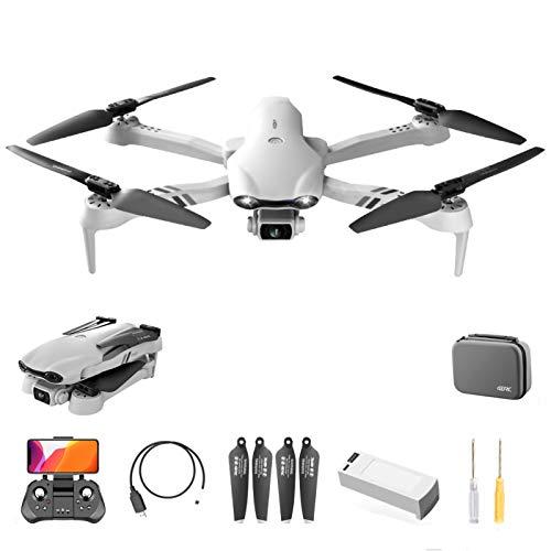 Drone GPS con telecomando F10 5G WIFI, quadricottero con doppia fotocamera Ultra HD 6K, regalo pieghevole con ritorno a una chiave per gli appassionati di outdoor