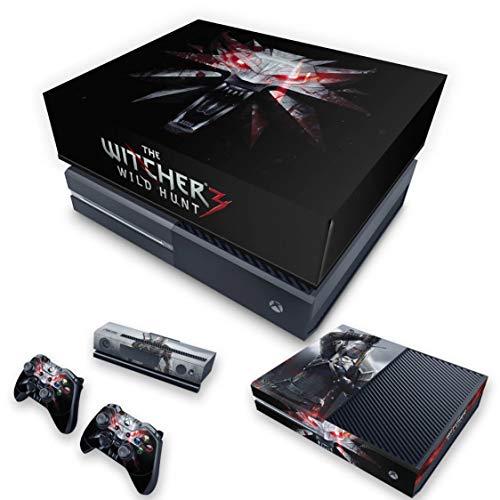 Capa Anti Poeira e Skin para Xbox One Fat - The Witcher 3#A