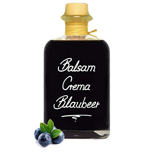 Balsamico Creme Blaubeer 0,5L 3% Säure mit original Crema di Aceto Balsamico di Modena IGP