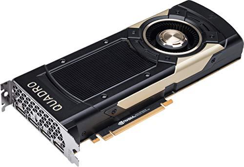 NVIDIA Quadro GV100 Quadro GV100 - Tarjeta gráfica (32 GB, PCIe 3.0 x16, 4 x DisplayPort, para Workstation Z4 G4 (1000 W, 750 W), Z8 G4