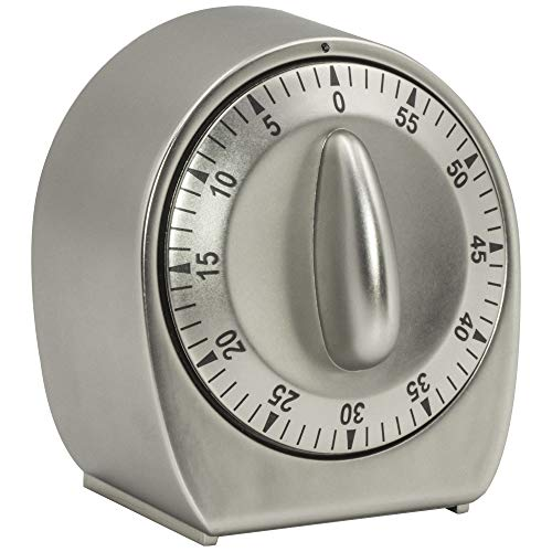 Chef Select Mechanical Timer, 60 Minutes, Minute Warning Alert,...