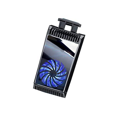 Handy-Heizkörper Halbleiter-Kältetechnik Handy-Kühlgerät Aktive Kühlung Lassen Sie Ihr Telefon mit hoher Geschwindigkeit Laufen Geeignet für Gamer (Farbe : Schwarz)