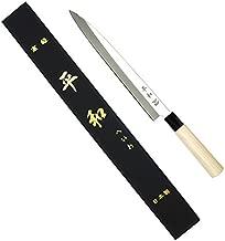 KS&E Hasegawa 12 Inch(300mm) Stainless Steel Left Handed Japanese Knife, Filet Knife Fish, Asian, Yanagi Sushi Sashimi Knife