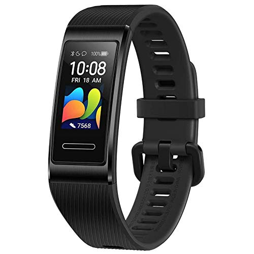 HUAWEI Band 4 Pro - Smart Band Fitness Tracker with 0.95 Inch AMOLED Touchscreen, 24/7 Heart Rate Monitor,...
