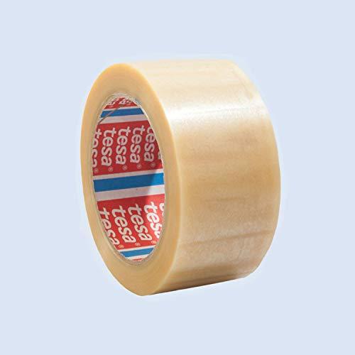 tesa-36x PVC-Packband tesapack 4124, leise, transparent, 65 µ, 50 mm x 66 lfm.