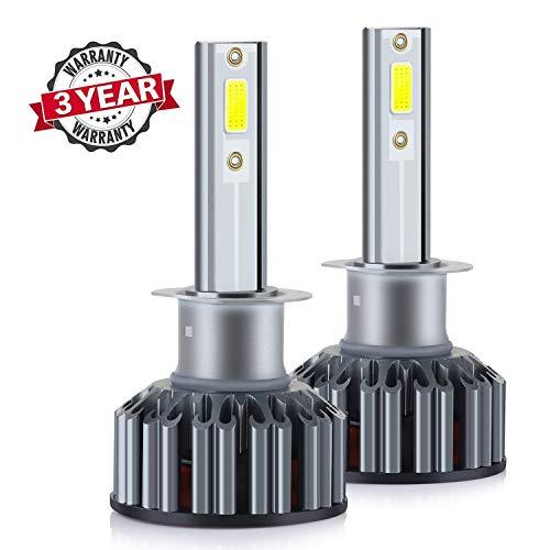 Wakana H1 10000LM LED Phare Auto Car Lampe Feux Conversion Ampoule Light 6000K - 3 ans de garantie
