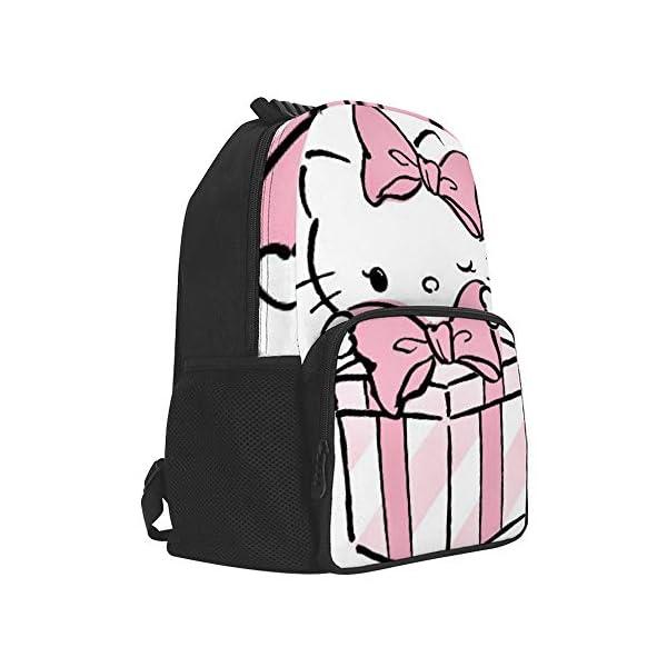 41W3Od5gCXL. SS600  - Hello Kitty mochila de regalo escolar bolsa de viaje de negocios mochila para hombres mujeres adolescentes escuela universidad 16 pulgadas